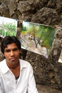 Artist Ajun Pal, first prize.