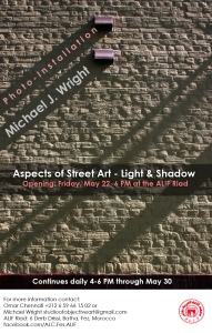 Aspects of Street Art - Light & Shadow