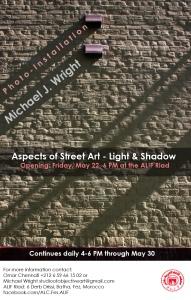 Aspects of Street Art - Light & Shadow